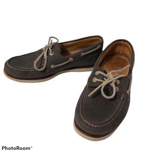 Sperry Top Sider Gold Cup boat shoe #0219485 Grey